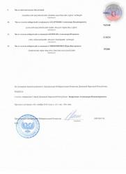 Протокол Центральной избирательной комиссии